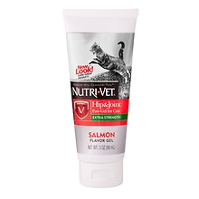 Nutri-Vet Hip & Joint Plus Paw Gel for Cats Salmon