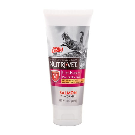 Nutri-Vet Uri-Ease Paw-Gel for Cats Salmon