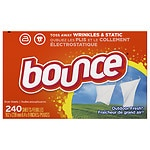 Save $1 on Bounce laundry care products.