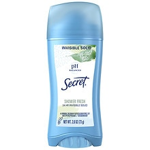 Secret Invisible Solid Antiperspirant & Deodorant Shower Fresh
