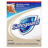 Safeguard Antibacterial Bar Soap Beige