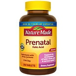 Nature Made Multi Prenatal Vitamin/Mineral Dietary Supplement Tablets