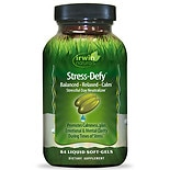 Irwin Naturals Stress-Defy Liquid Soft-Gels Stressful Day Neutralizer