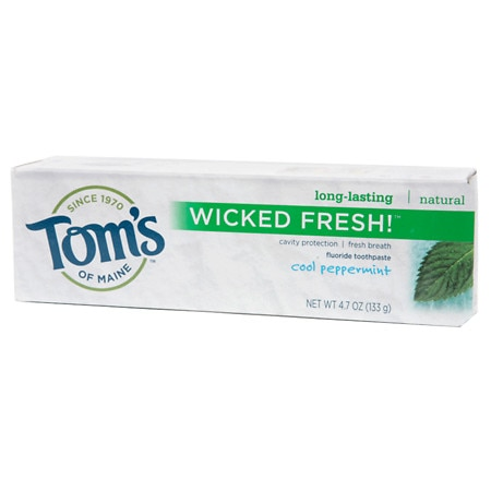 Tom's of Maine Wicked Fresh Fluoride Toothpaste Cool Peppermint