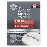 Dove Men+Care Men+Care Body and Face Bars 2 PackDeep Clean Deep Clean