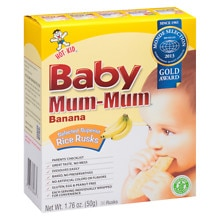 Baby Mum-Mum Rice Rusks 24 Pack
