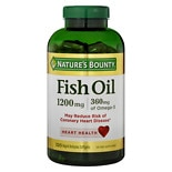 Nature's Bounty Fish Oil 1200 mg Dietary Supplement Softgels