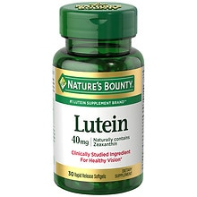 Lutein 40 mg Dietary Supplement Softgels