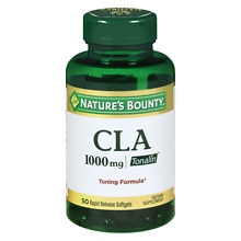 Nature's Bounty CLA 1000 mg Dietary Supplement Softgels