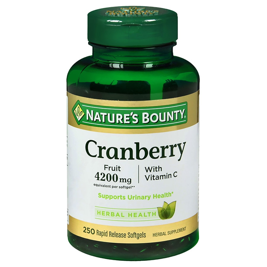 Nature S Bounty Cranberry With Vitamin C