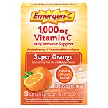 Emergen-C 1000 mg Vitamin C Dietary Supplement Super Orange Fizzy Drink Mix Super Orange