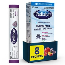 Pedialyte Oral Electrolyte Maintenance Powder Packs Variety Pack