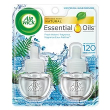 Air Wick Scented Oil Twin Refill Fresh Waters
