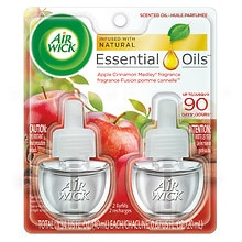 Air Wick Scented Oil Twin Refill Apple & Shimmering Spice