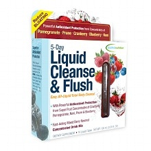 Applied Nutrition 5-Day Liquid Cleanse & Flush Dietary Supplement Drink Mix Tubes 10 Pack Mixed Berry