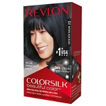 Revlon Colorsilk Beautiful Color Permanent Hair Color Natural Blue Black 12