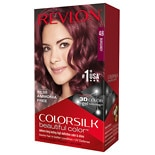 Revlon Colorsilk Beautiful Color Permanent Hair Color Burgundy 48