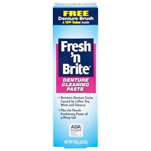 Fresh and Brite Fresh 'N Brite Denture Cleaning Paste