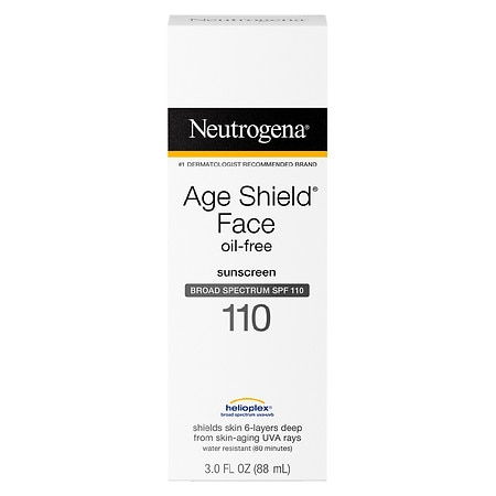 Neutrogena Age Shield Face, Sunscreen Lotion, SPF 110