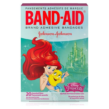 Band-Aid - Children's Disney Princess Adhesive Bandages Assorted Sizes Assorted Sizes