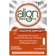 Digestive Care Probiotic Supplement Capsules