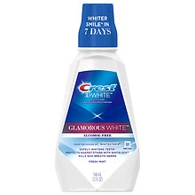 Crest 3D White Multi-Care Whitening Rinse Fresh Mint