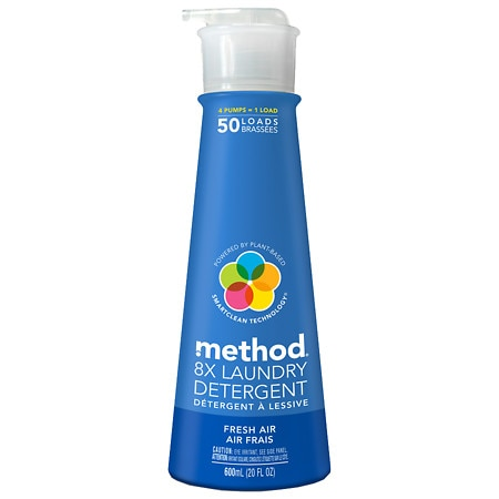 method Laundry Detergent Liquid Fresh Air