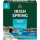 Irish Spring Deep Action Scrub Bath Bar 3.75 oz