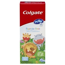 Colgate Kids My First Toddler Fluoride Free Toothpaste Mild Fruit