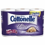 Cottonelle Ultra Bath Tissue, Double Roll