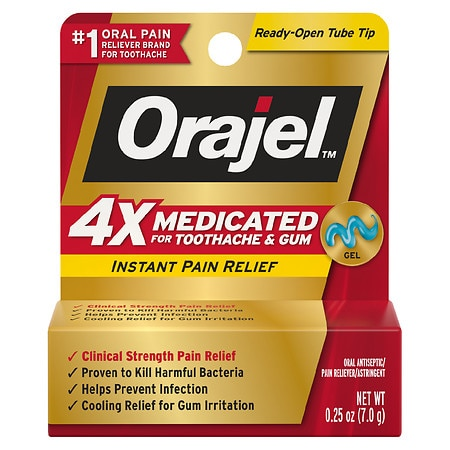 Orajel Pain Relief Gel For Severe Toothache
