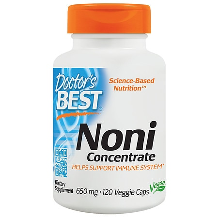 Doctor's Best Best Noni Concentrate, 650mg, Veggie Caps