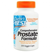 Doctor's Best Comprehensive Prostate Formula, Veggie Caps