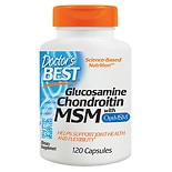 Doctor's Best Glucosamine Chondroitin MSM, Capsules