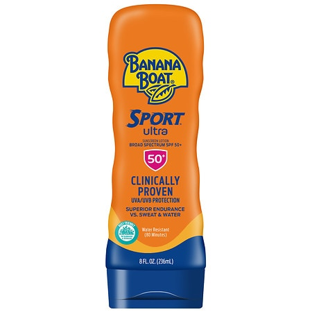 Banana Boat Sport Performance Sunscreen Lotion, SPF 50+