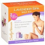 Spa Body Wax Hair Removal Kit Lavender
