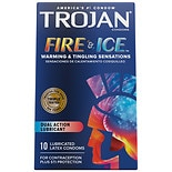 Trojan Pleasures Fire & Ice Premium Latex Condoms