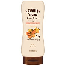 Hawaiian Tropic Sheer Touch Lotion Sunscreen, SPF 15