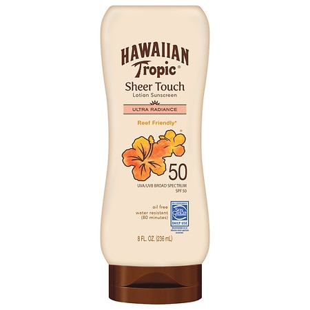 Hawaiian Tropic Sheer Touch Lotion Sunscreen SPF 50