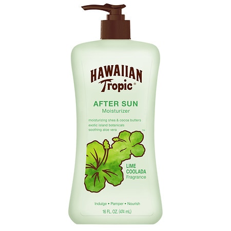 Hawaiian Tropic After Sun Moisturizer Lotion Lime Coolada