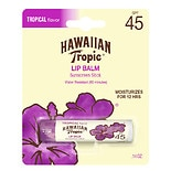 Hawaiian Tropic Moisturizing Lip Balm Sunscreen, SPF 45 Tropical