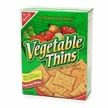 Nabisco Vegetable Thins Crackers