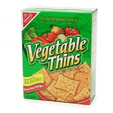 Vegetable Thins Crackers