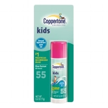 Coppertone Kids Sunscreen Stick, SPF 55 SPF 55