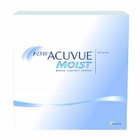 1 Day Acuvue Moist 90 Pack Contact Lenses