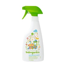 BabyGanics The Cleaner Upper, Toy & Highchair Cleaner Fragrance Free