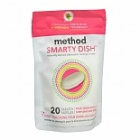 method Smarty Dish Dishwasher Detergent Tabs Pink Grapefruit
