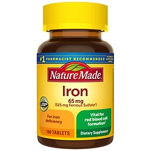 Nature Made Iron Cvs