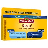 Nature Made Sleep Dietary Supplement, Liquid Softgels