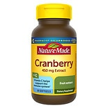Nature Made Super Strength Cranberry Herbal Supplement 450 mg Extract Softgels